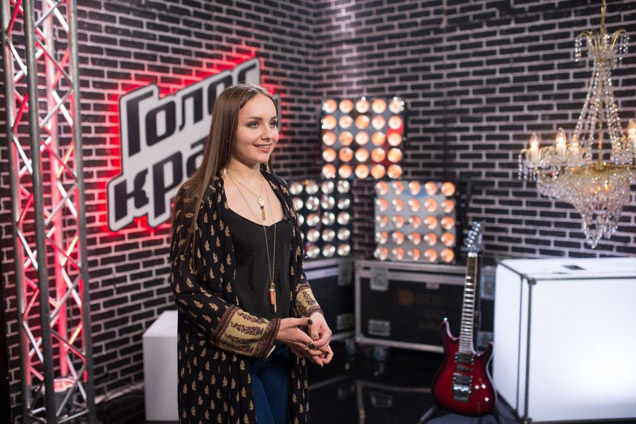 Инна Ищенко - участница проекта Голос Країни